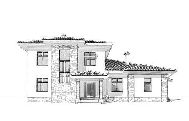 проектирование строительства загородного дома реферат