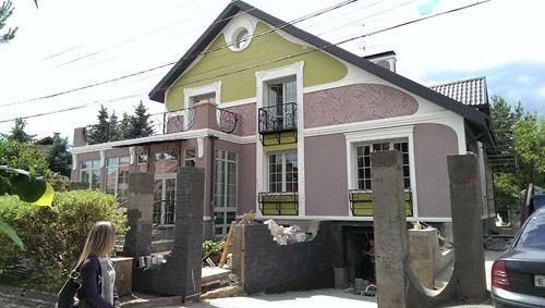 реализация дизайна фасада