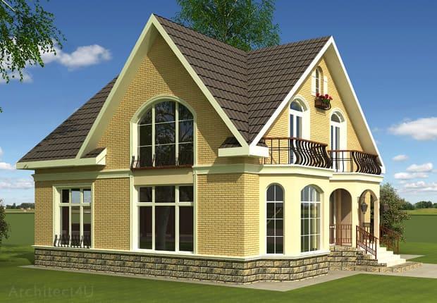 дизайн фасадов деревянного дома