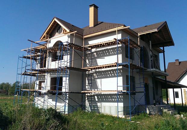 фото дома до дизайна фасадов