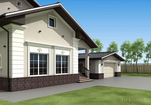 дизайн фасадов в классическом стиле