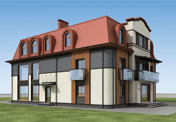 фасады дома в куркино москва