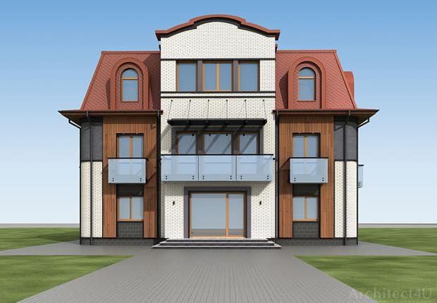 фото фасада дома в куркино москва