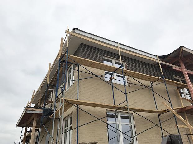 отделка фасадов термопанелями с клинкерной плиткой