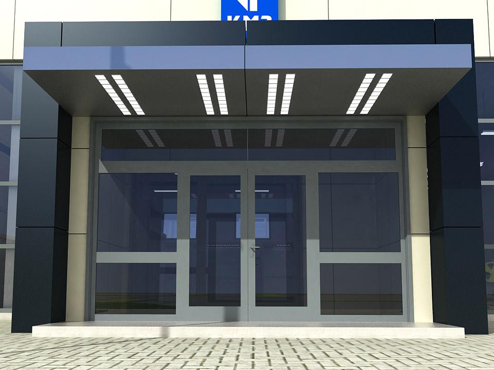 дверь внутренняя входная в помещение общественного здания купить