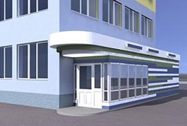 5 - вход в медицинский центр в балашихе
