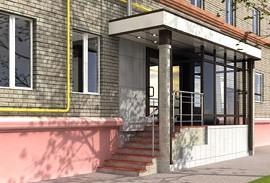9 - пример входа в магазин на первом этаже жилого пятиэтажного дома