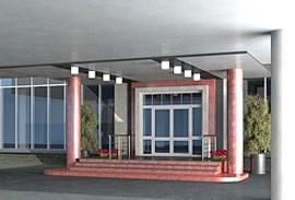 13 - пример входа в бизнес центр