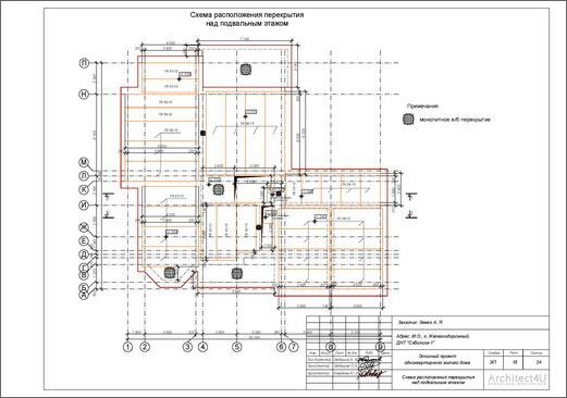 схема раскладки плит