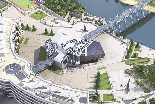 Дизайн общественных зданий